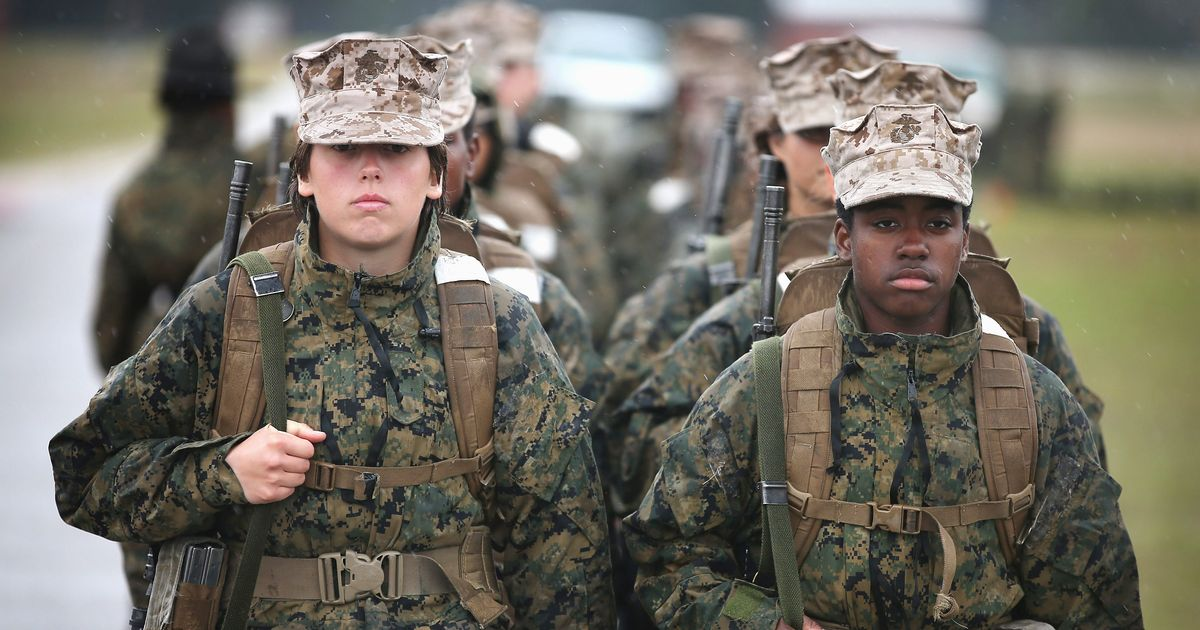 the discussion on women in military