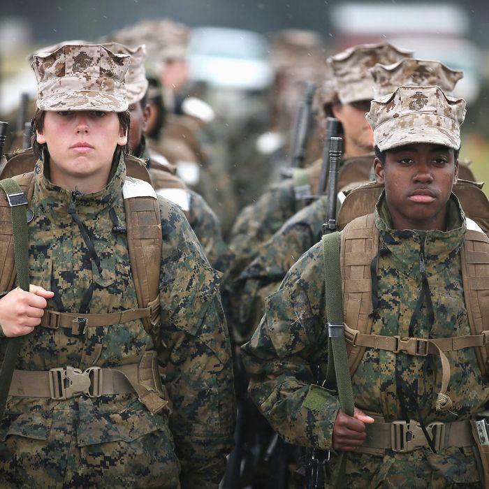 Nude marines