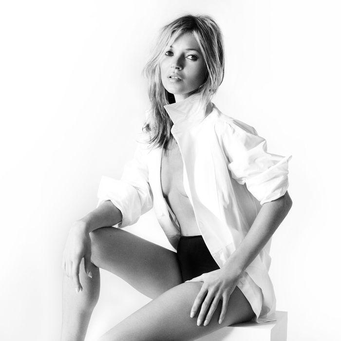 Kate Moss for Stuart Weitzman.