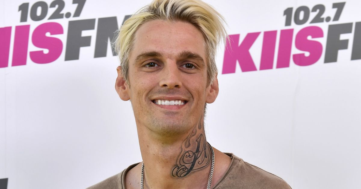 Aaron Carter Reveals He's Still Smoking Weed After Rehab