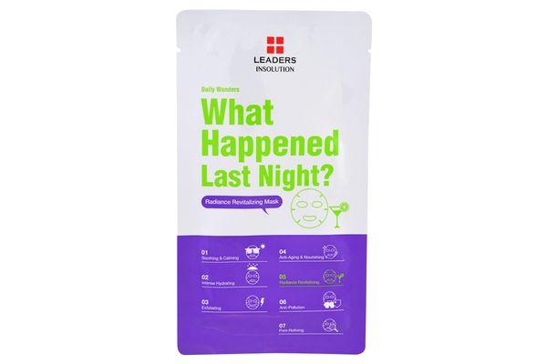 Leaders What Happened Last Night Mask