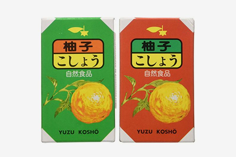 Red and Green Yuzu Kosho Duo