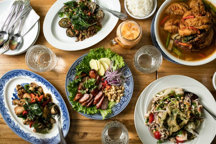 The absolute best thai restaurants in nyc for Amber asian cuisine nyc