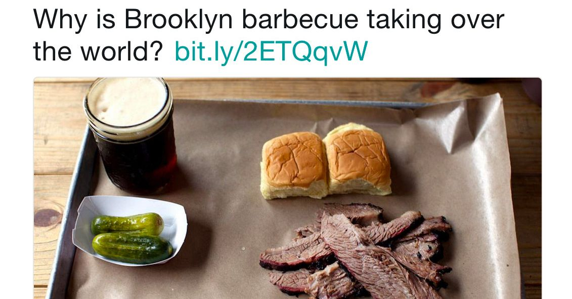 Heres the barbecue tweet that broke twitter forumfinder Images