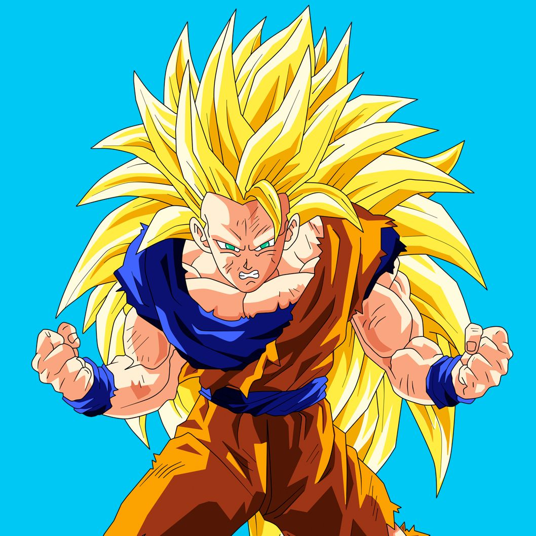 imagenes de dragon ball z goku ssj 3 wallpaper images