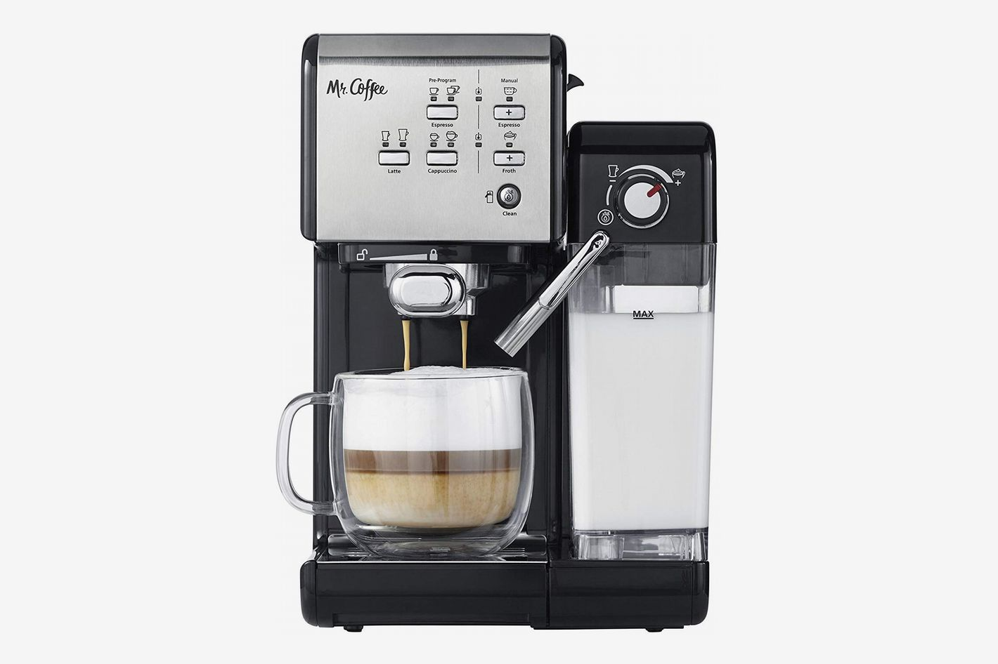 3de661c4d5b5 Mr. Coffee One-Touch CoffeeHouse Espresso Maker and Cappuccino Machine