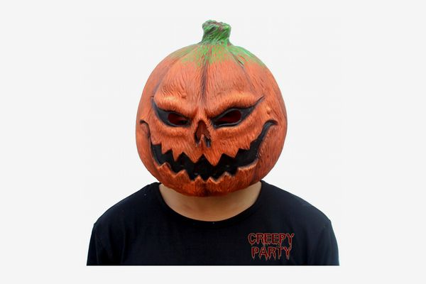 CreepyParty Pumpkin-Head Mask