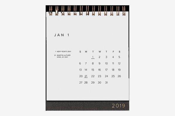 Appointed 2019 Desk Calendar