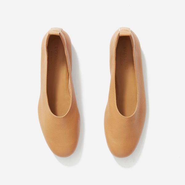 Everlane Day Glove Shoes, Caramel