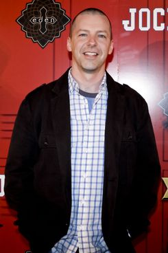 """HOLLYWOOD, CA - APRIL 20:  Sean Hayes arrives to the """"Jock Itch"""" Book Release Party at Eden on April 20, 2011 in Hollywood, California.  (Photo by Tibrina Hobson/Getty Images) *** Local Caption *** Sean Hayes;"""