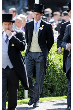 Prince Harry attends Day 1 of Royal Ascot at Ascot Racecourse on June 17, 2014 in Ascot, England.