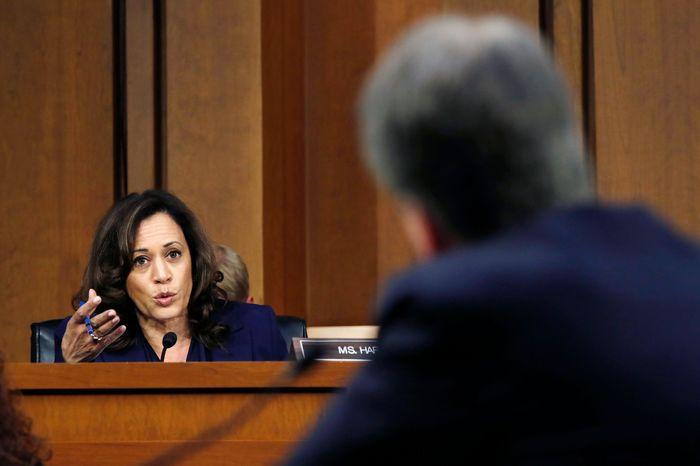 Senator Kamala Harris.