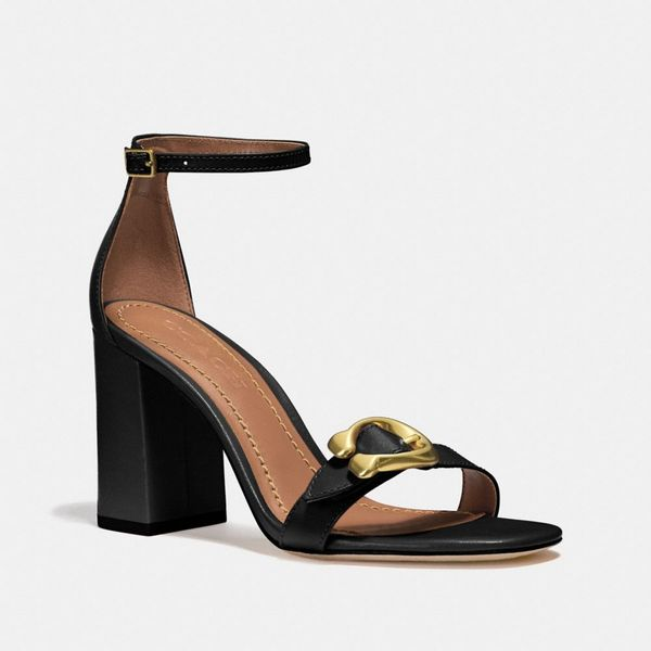 black coach maya sandal coach-summer-sale
