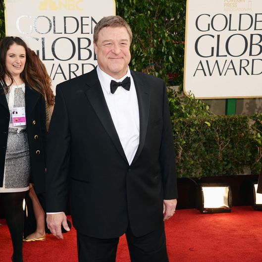 BEVERLY HILLS, CA - JANUARY 13:  Actor John Goodman arrives at the 70th Annual Golden Globe Awards held at The Beverly Hilton Hotel on January 13, 2013 in Beverly Hills, California.  (Photo by Jason Merritt/Getty Images)