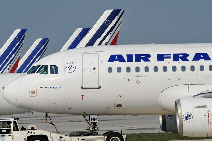 Air France's planes.