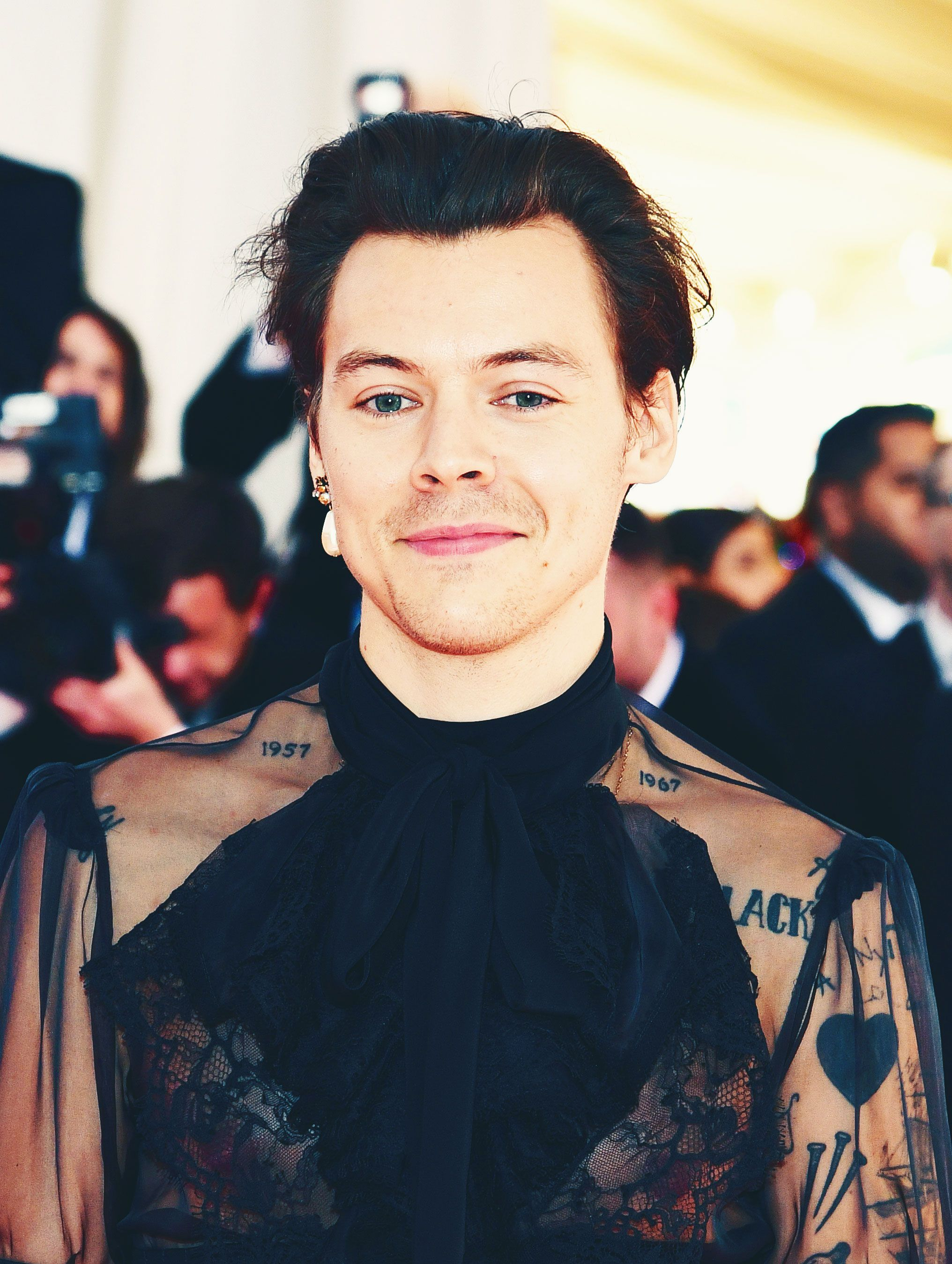 How Harry Styles Nailed the Met Gala Theme