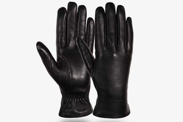 Diravo Lambskin Touchscreen Driving Gloves