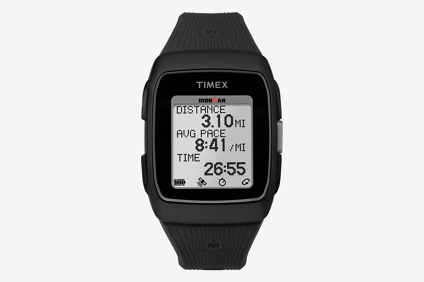 e992a0089970 Timex Ironman GPS Silicone Strap Watch