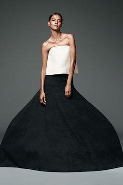 Liya Kebede wears Rosie Assoulin.