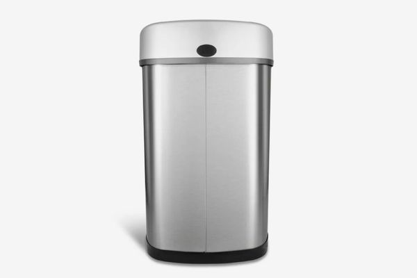 Nine Stars Stainless Steel 13.2 Gallon Motion Sensor Trash Can