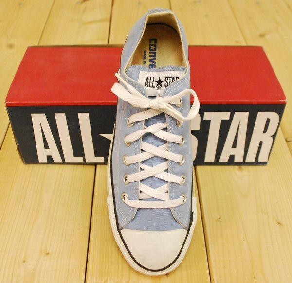 Vintage 1990s Deadstock Dusk Blue Converse Chuck Taylor Lo-Top Sneakers