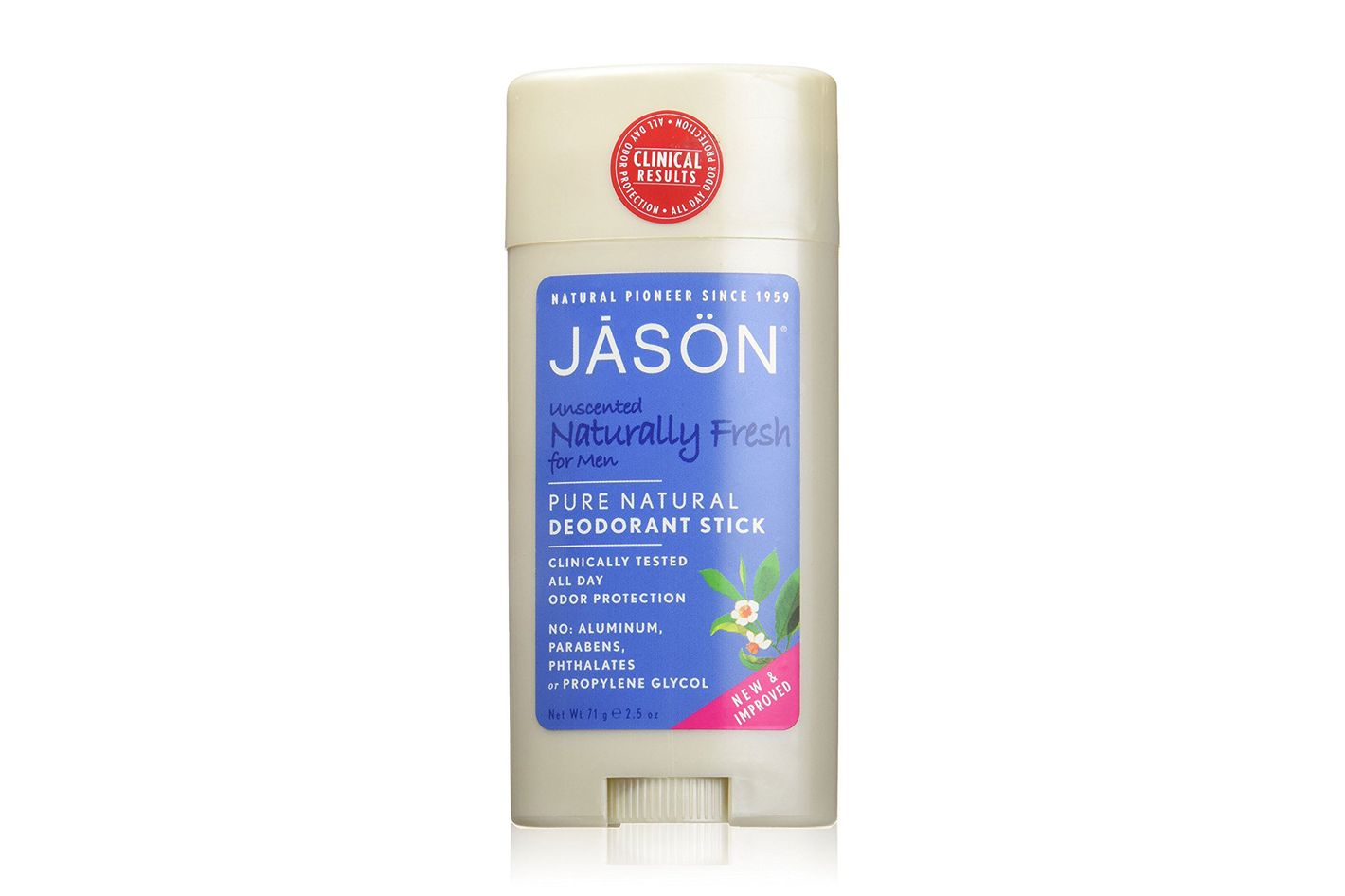 Jason Unscented Deodorant for Men