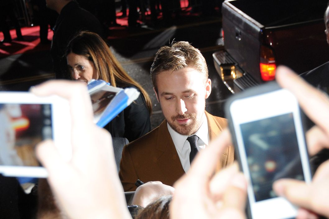 Ryan Gosling arrivals to the 'Gangster Squad' Premiere at Grauman's Chinese Theater in Los Angeles,