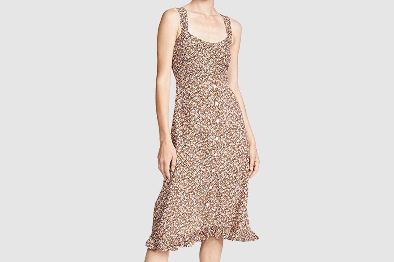 Faithfull The Brand Women's Yasmin Midi Dress