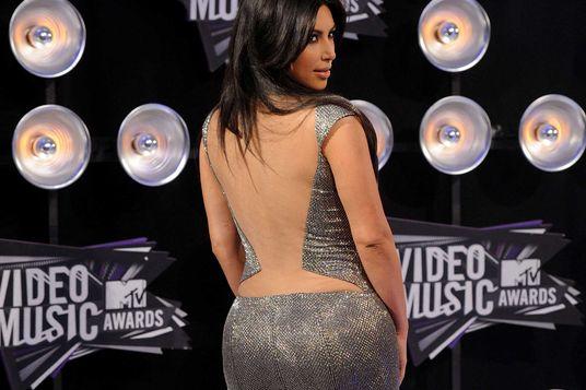 Kim Kardashian at the 2011 MTV Video Music Awards.
