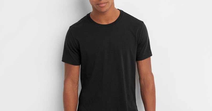 89873fca 13 Best Black T-shirts for Men 2018