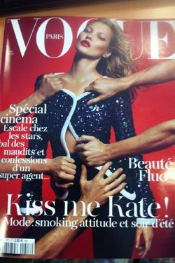 Emmanuelle Alt Put Kate Moss on Her Second French Vogue Cover