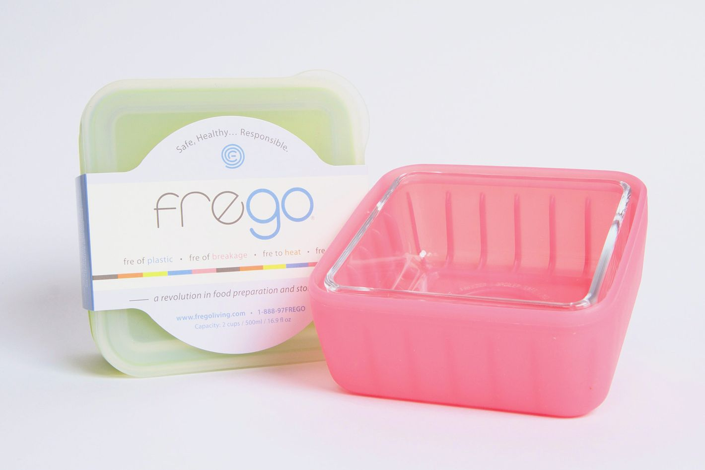 Frego Glass Food Storage Container