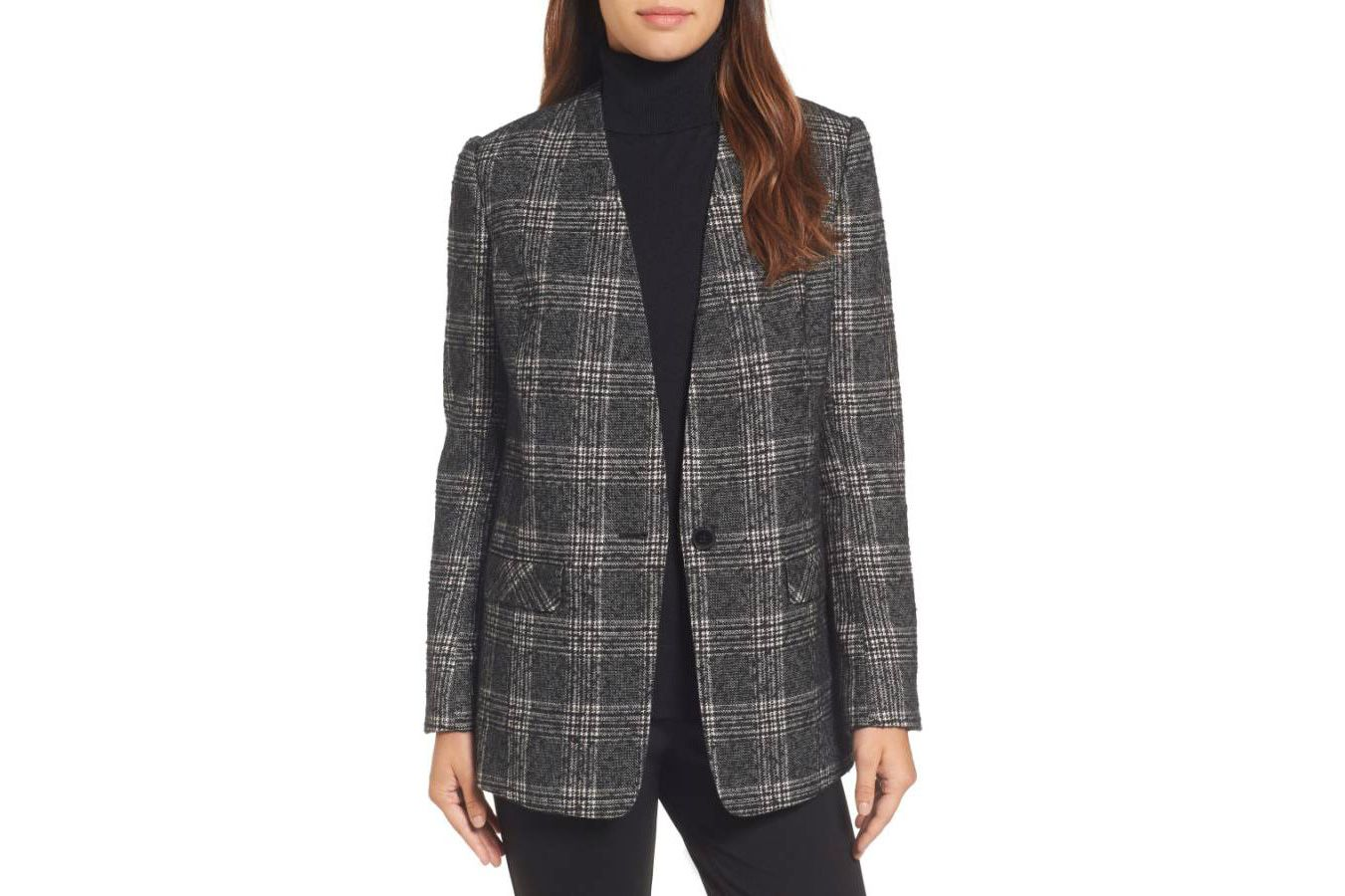 Halogen Glen Plaid Jacket
