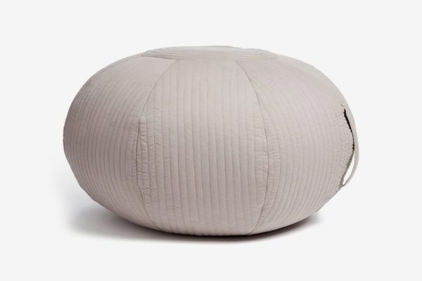 The White Company Quilted Poof