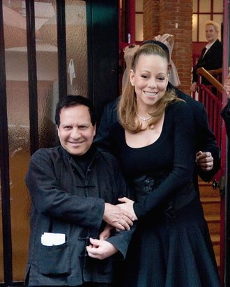 Azzedine Alaïa and Mariah Carey.