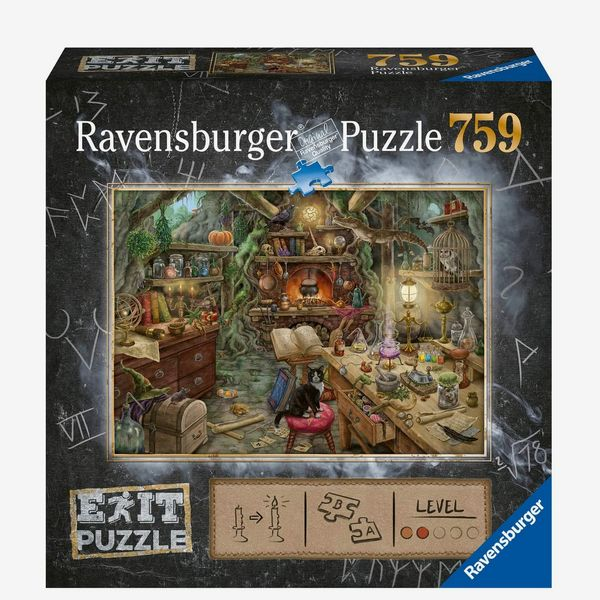 Ravensburger Exit Puzzle — Witch's Kitchen 759-Piece Mystery Jigsaw Puzzle