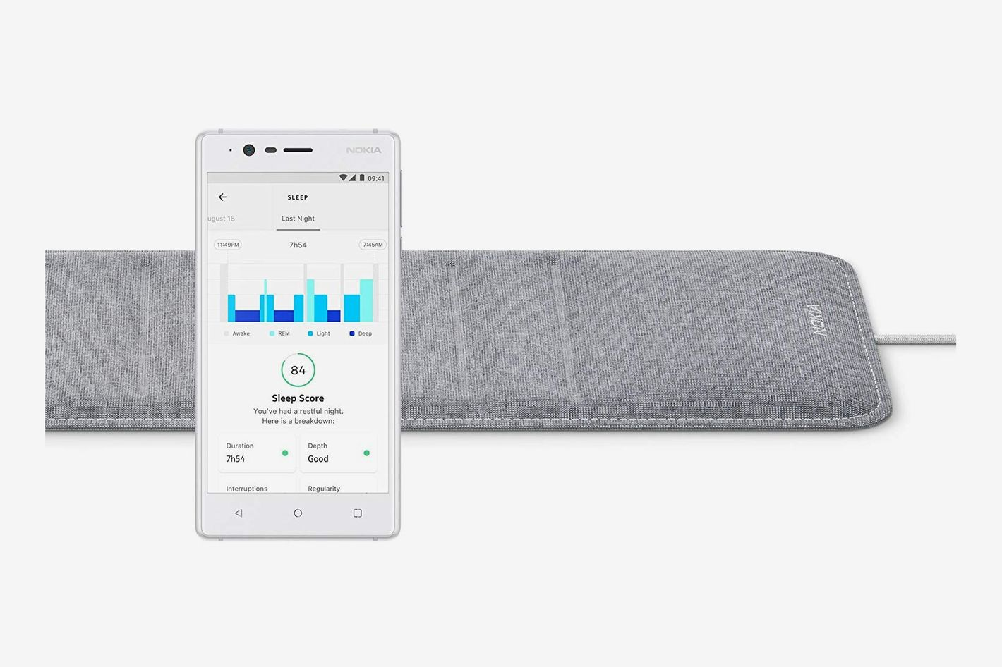 Withings/Nokia Sleep — Sleep Tracking Pad