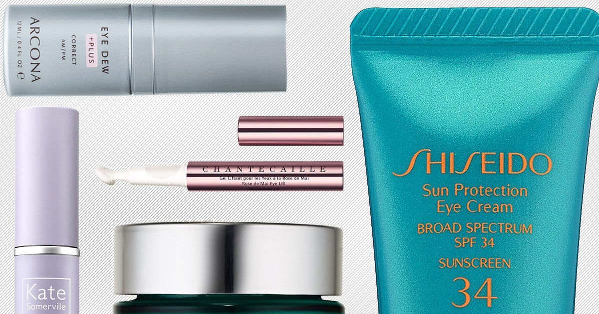12 Creams for Bright, Non-Puffy, Smooth Eyes