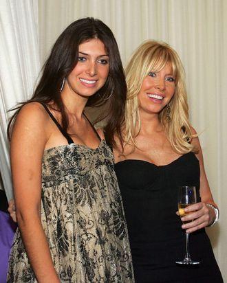 Brittny and Lisa Gastineau.