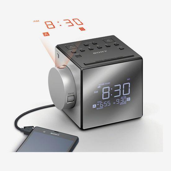 Sony ICF-C1PJ Alarm Clock Radio with Time Projection