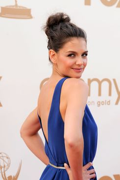 LOS ANGELES, CA - SEPTEMBER 18:  Actress Katie Holmes arrives at the 63rd Annual Primetime Emmy Awards held at Nokia Theatre L.A. LIVE on September 18, 2011 in Los Angeles, California.  (Photo by Frazer Harrison/Getty Images)
