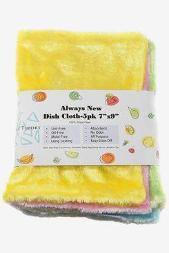 EasyTheory Thick Absorbent Wood Fiber Dish Cloths