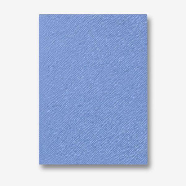 Smythson Soho Notebook, Nile Blue