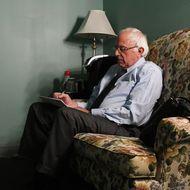 Bernie Sanders Campaigns in Burlington