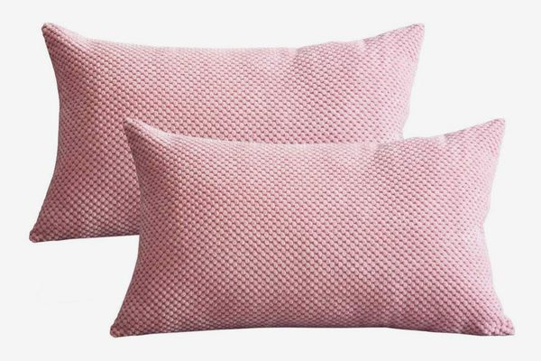 Lutanky Corduroy Cushion Covers (Pack of 2)