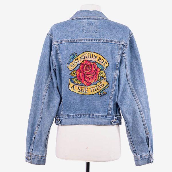 "Custom Levi's Denim Jacket Worn by Cheryl ""Salt"" James of Salt-N-Pepa"