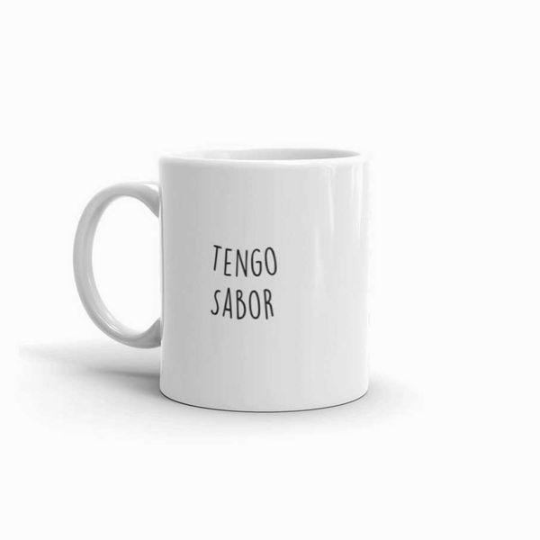 Yo Soy Afro Latina Tengo Sabor Mug