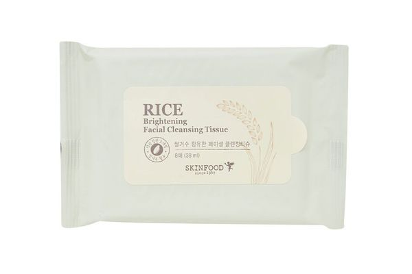 Skinfood Rice Brightening Cleansing Tissue