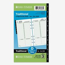 Day-Timer 2020 Daily Planner Refill
