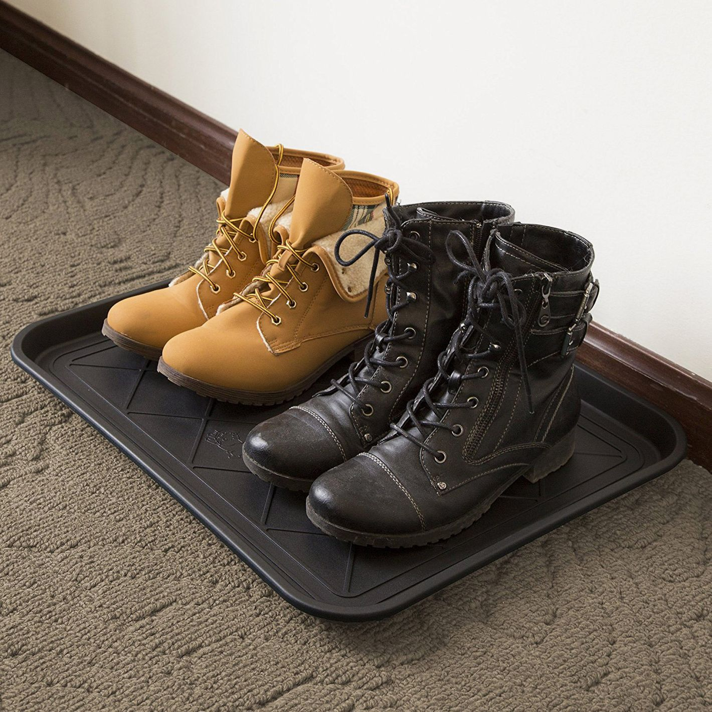 "Stalwart ECO Friendly Utility Boot Tray Mat (20"" x 15"")"
